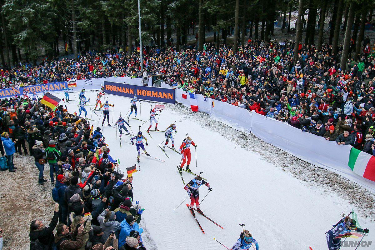 Biathlon Weltcup Oberhof 2021